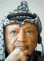 Yasser Arafat is liable for the violent Intifadah