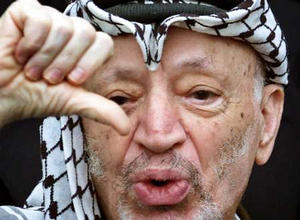 Yasser Arafat is an unraliable person