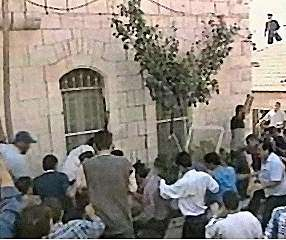 Palestinian MOB in action